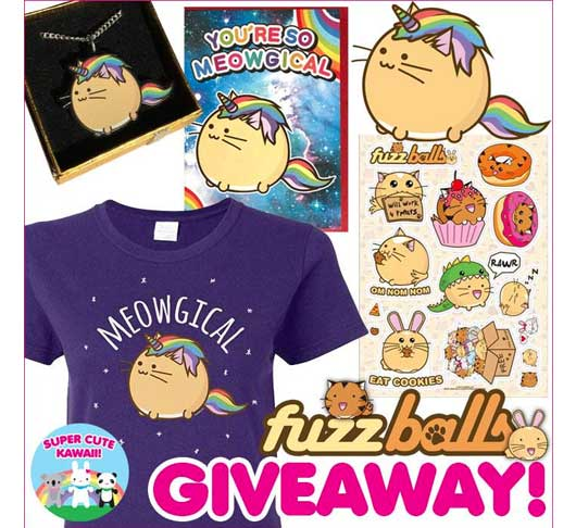 Meowgical Giveaway with Super Cute Kawaii