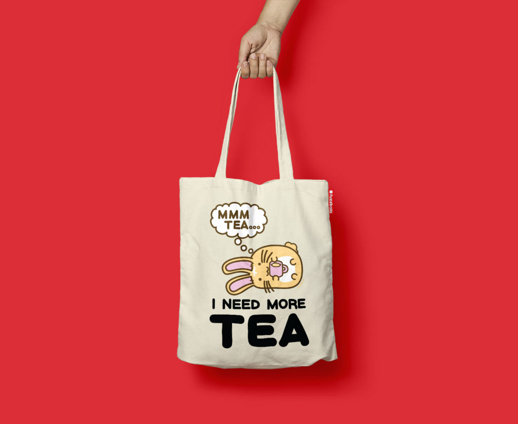 I Need More Tea Tote Bag Launched!