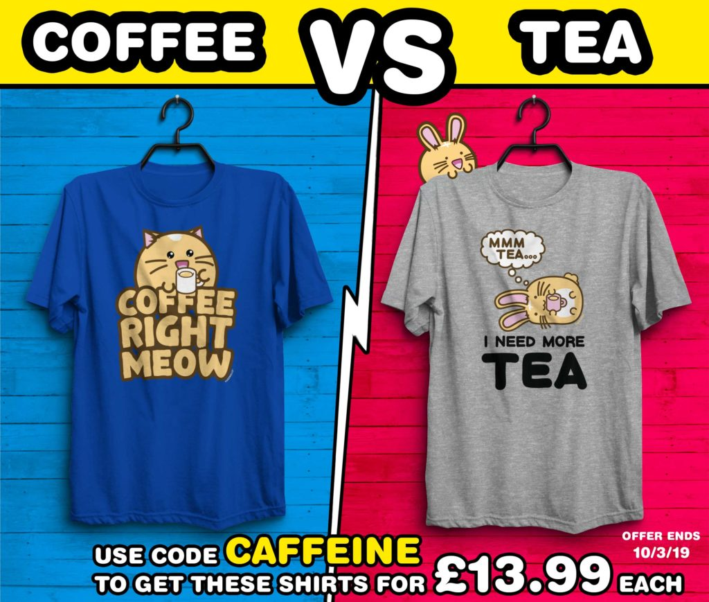 TEA VS COFFEE OFFER